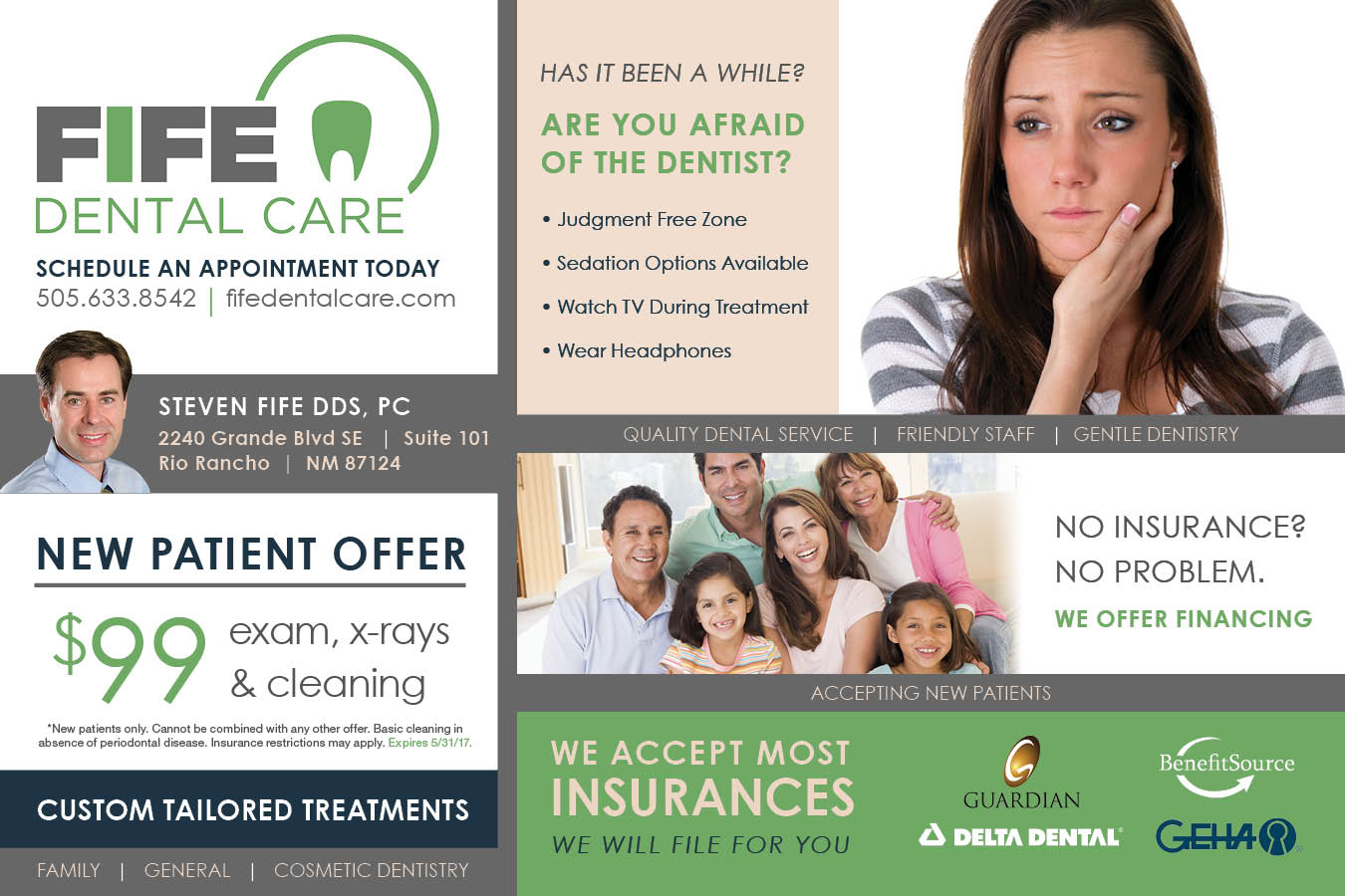 New Patient Special | Fife Dental Care
